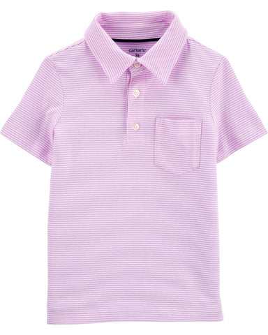 Carter's Striped Jersey Polo 3H485410
