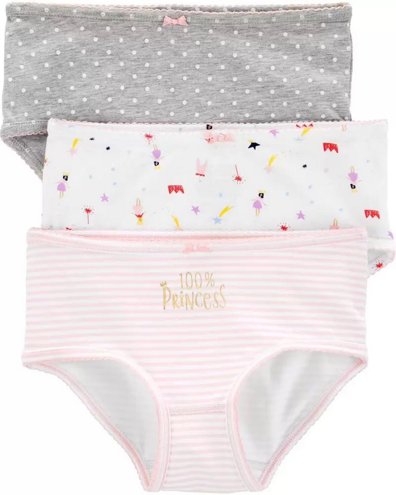 Carter's 3-Pack Cotton Undies 3H742210