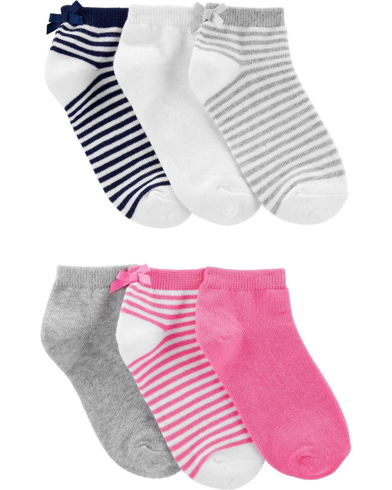 Carters 6-Pack Ankle Socks 3H760210