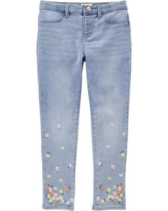 OshKosh Embroidered Floral Jeggings 3I141310