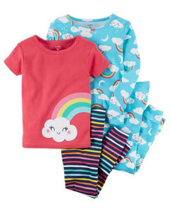 Carter's 4-Piece Rainbow Snug Fit Cotton PJs  Modelo 23243011