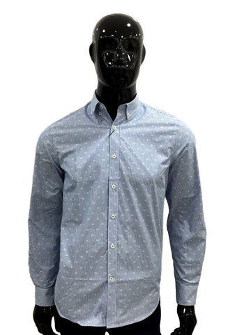 Perry Ellis Camisa Estampada Mangas Largas  4BFW8678-496