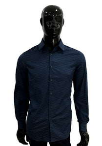 Perry Ellis Camisa Estampada Mangas Largas  4CMW7006-430