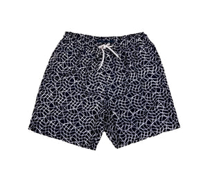 Perry Ellis Men's Swimwear  4DMH8401-BK