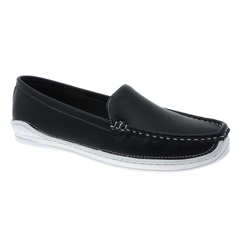 Pierre Dumas Women's Moccasin Slip-On Leather loafers 81315
