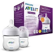 Avent Pack de 2 Biberones Natural 4 oz. 8710103875697