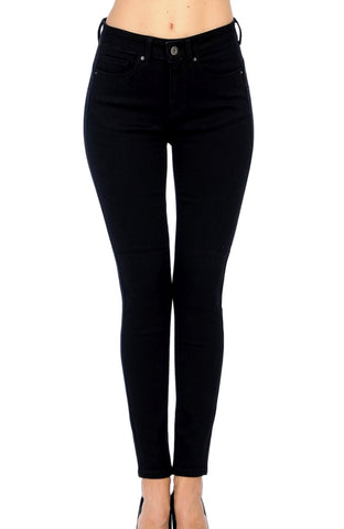 Wax Jean Women's High-Rise Push-Up Skinny Jeans 90500