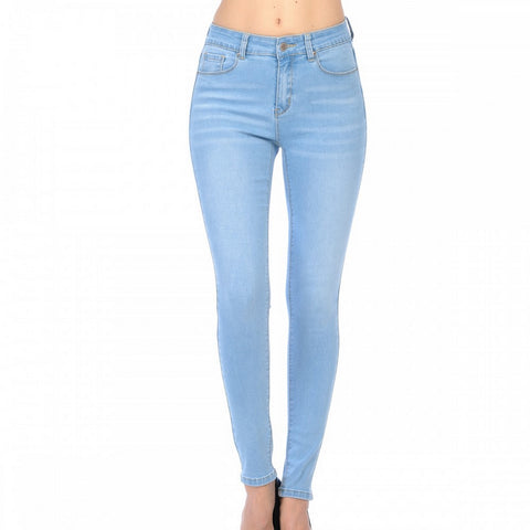 Wax High Rise Jeans Skinny Modelo 90600