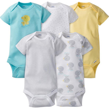 Gerber 5-Pack Neutral Duck Onesies® Brand Short Sleeve Bodysuits  Modelo 980585060