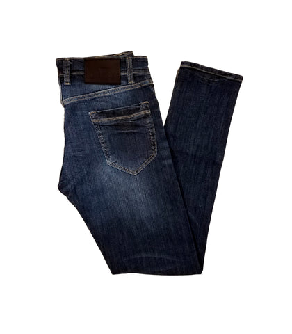 Blue Bronx Gold Jeans for Men Blue-649