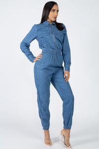 Denim BLVD Jumpsuit  Modelo BP05244-CH