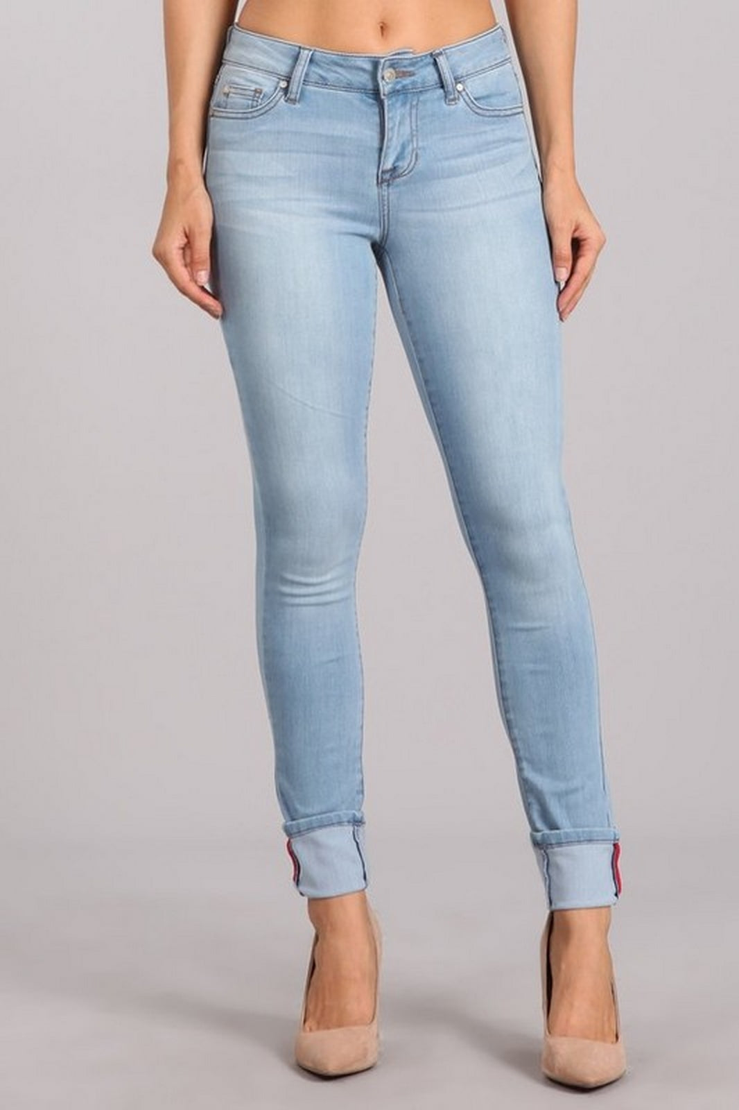 Celebrity Pink Women's Mid Rise Skinny Jeans  CJ22283H18