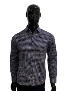 Perry Ellis Camisa Estampada Mangas Largas  E7HW8215-604