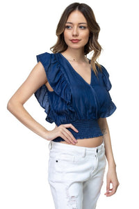 Denim BLVD Blusa HMT52989-T