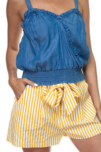 Denim BLVD Top  Modelo HMT53275-T