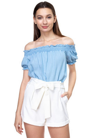 Denim BLVD Top  Modelo IT1O989-T