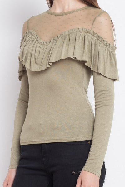 Iris Long Sleeve Top  IT8817-1