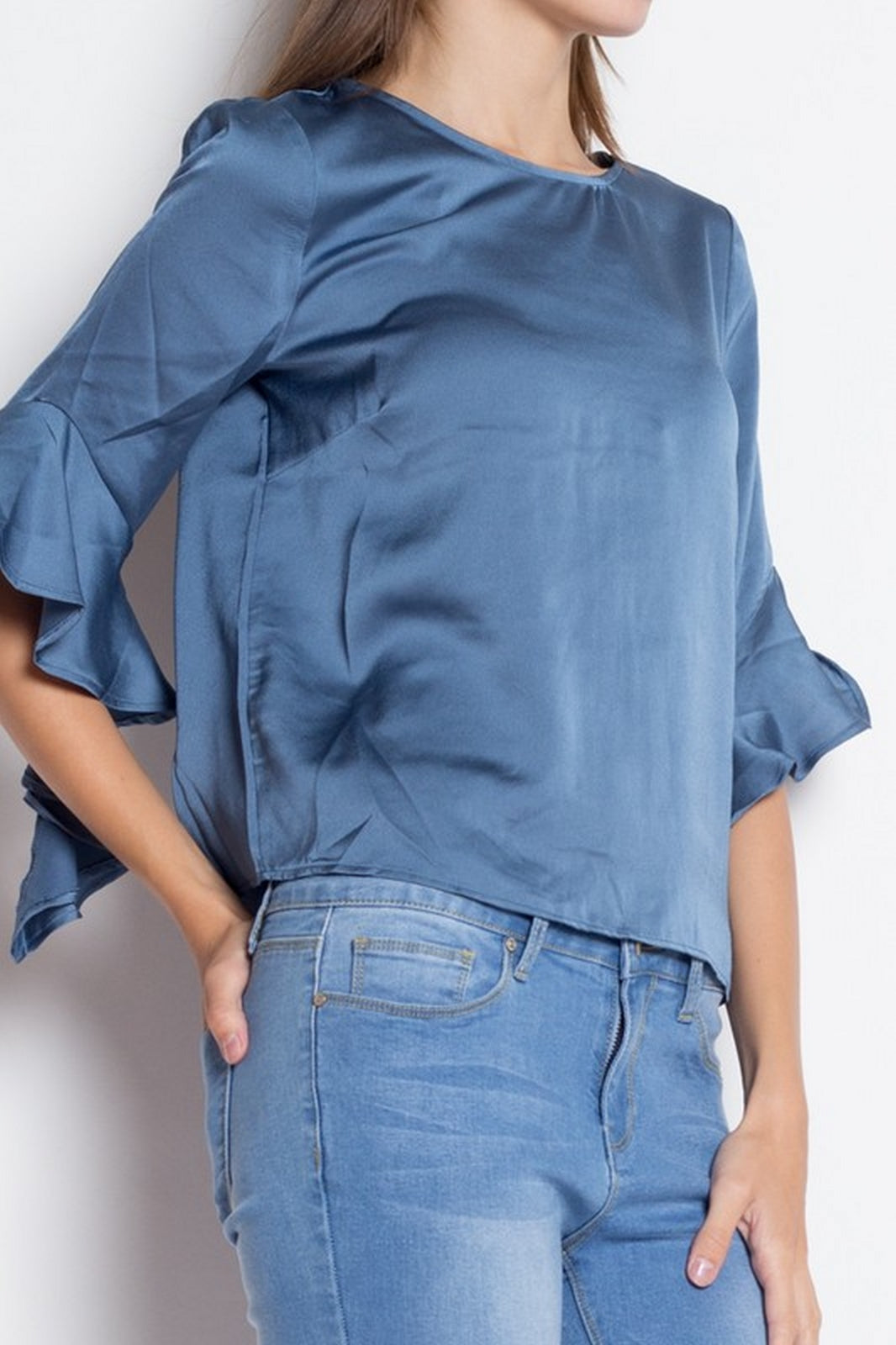 DENIM BLVD SHIRT IT9079
