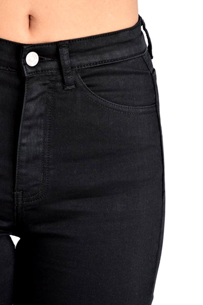 Kan Can High Rise Skinny Jeans Black Modelo KC5002BK