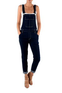 Kan Can Women's High Rise Jean Overalls  KC5088