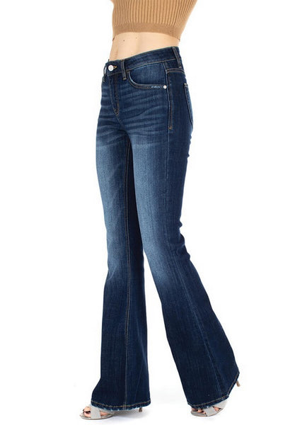 Kan Can Mid Rise Flare Jeans  Modelo KC6102LOH
