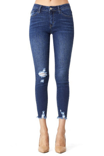Kan Can Ankle Skinny Jeans  Modelo KC9111TD