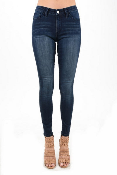 Nature Demin Skinny Jeans Dark Wash   NT2024D