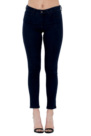 Sneak Peek Women's Mid Rise Skinny Ankle Jeans  SP-P10081