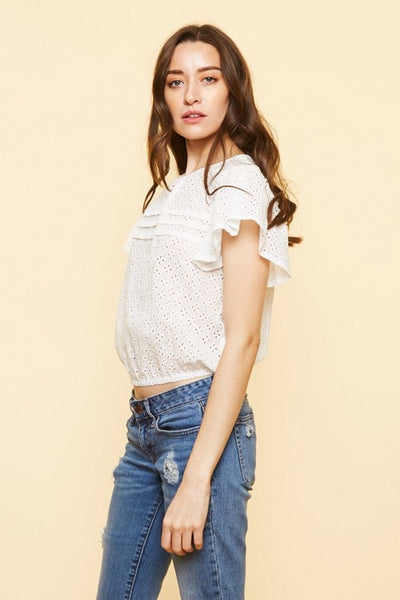 Available Womens Open Crop Top  T81128W