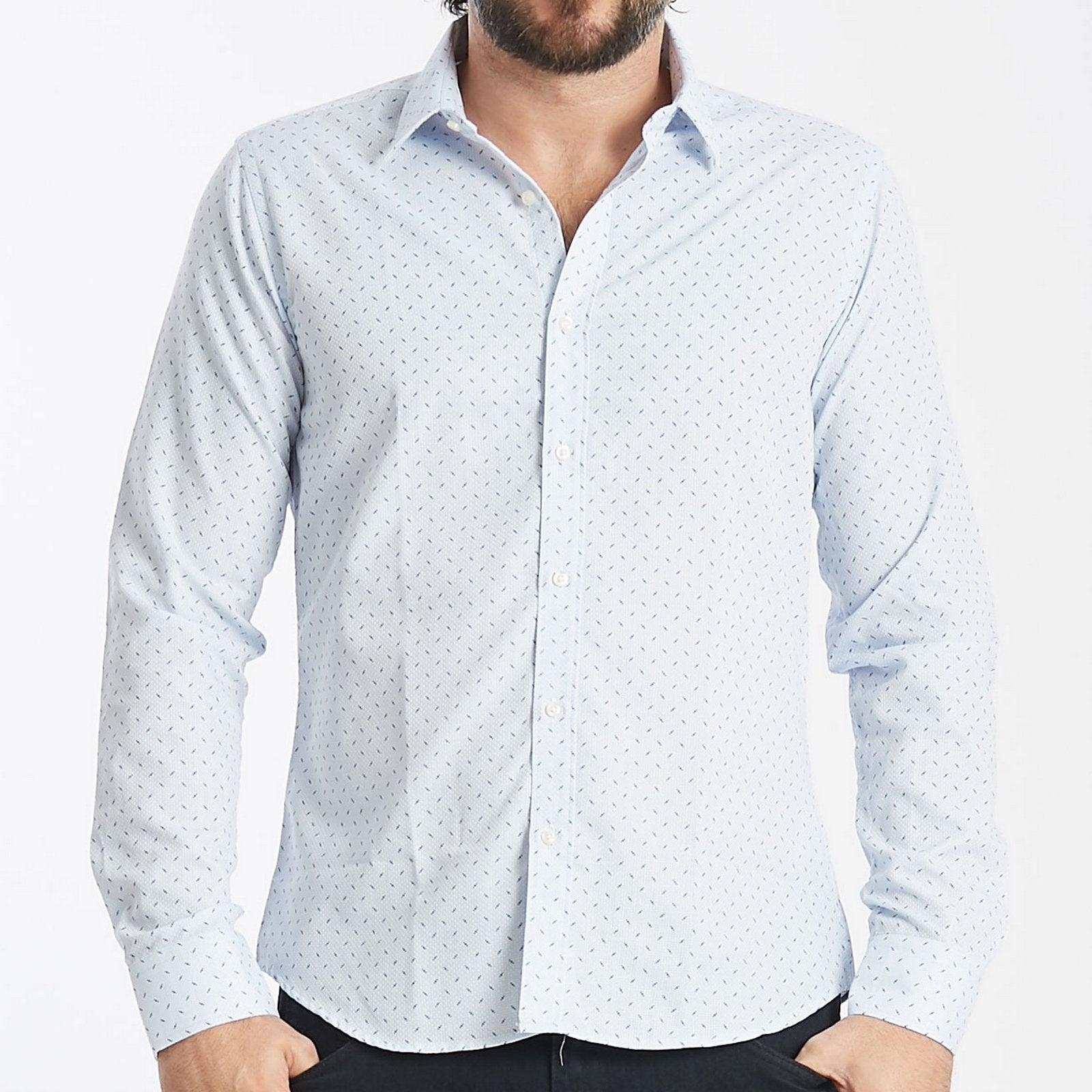 Ted Lapidus Camisa Mangas Largas  Modelo TL-F03-410A