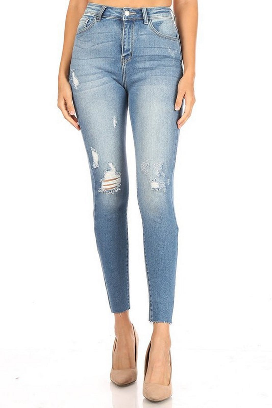 Encore Jeans High Waist Medium Wash V2013M