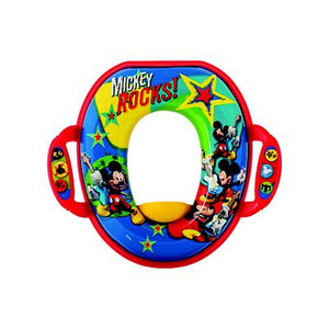 First Years Disney Baby Mickey Mouse Soft Potty Seat  Modelo Y10314A3
