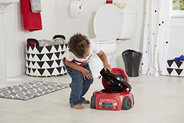 First Years Training Wheels Racer Potty System  Modelo Y7771A1