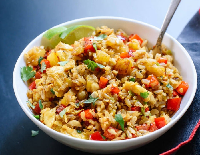 Indian Pineapple Fried Rice
