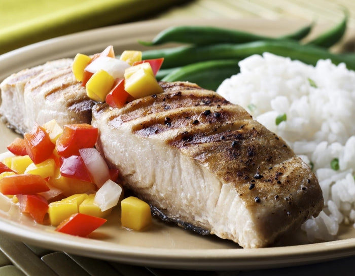 Grilled Fish With Tropical Relish