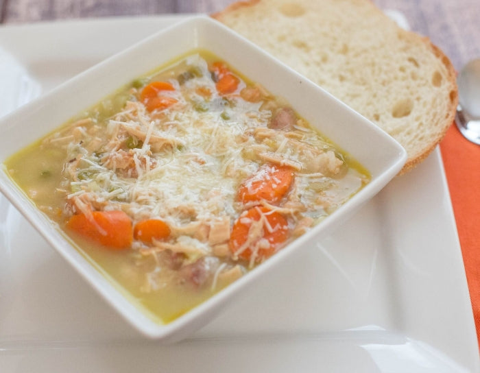 Easy Turkey & Rice Soup