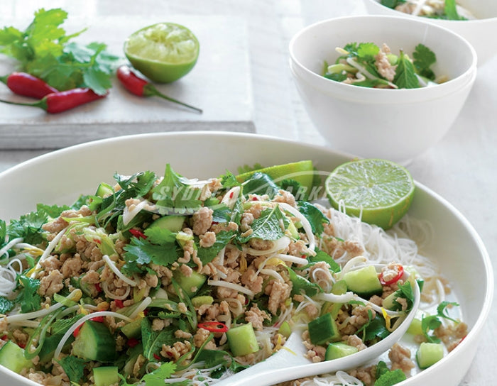 Coriander, Mint & Lime Chicken Noodle Salad