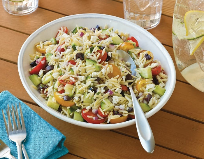 Orzo Salad With Grape Tomatoes