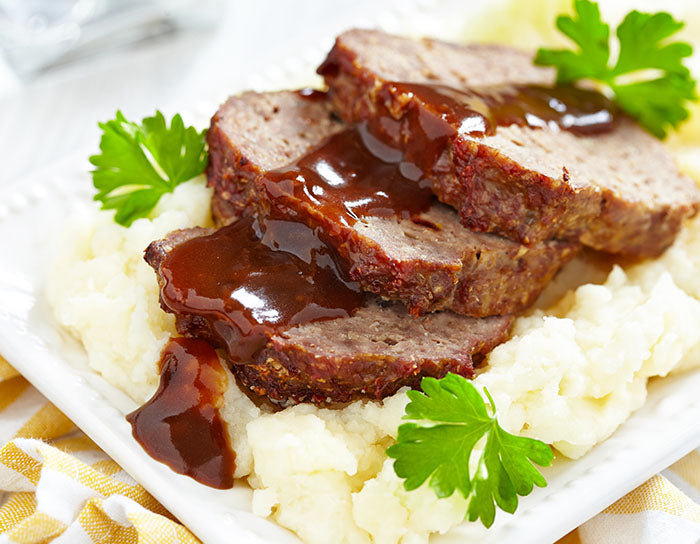 Roast Beef with Brown Sauce