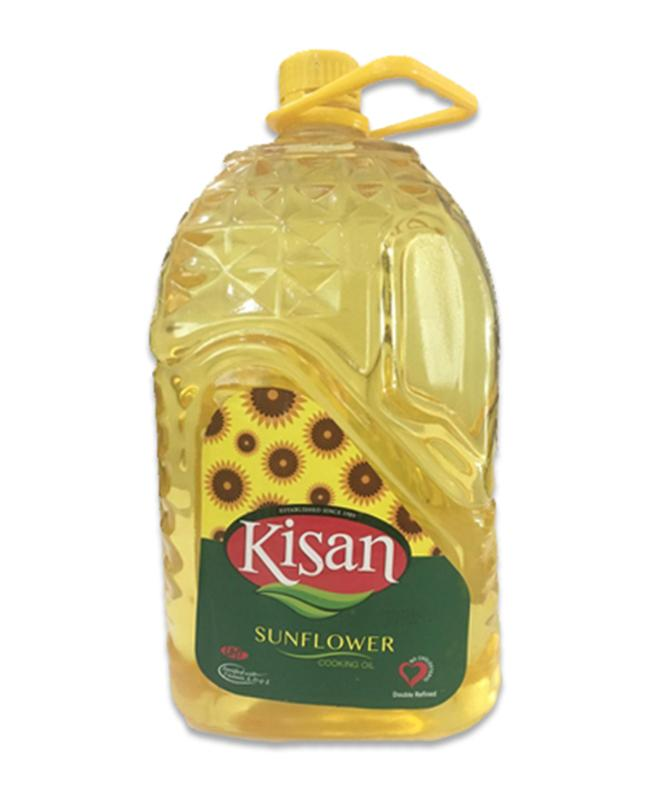 Sunflower Cooking Oil 5 Liter PET -Kisan