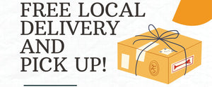 FREE LOCAL DELIVERY & PICKUP FOR STATIONARY AND APOTHECARY GOODS