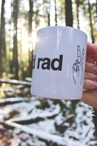 FAT AND RAD - Mug