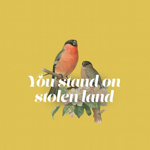 STOLEN LAND - Greeting Card