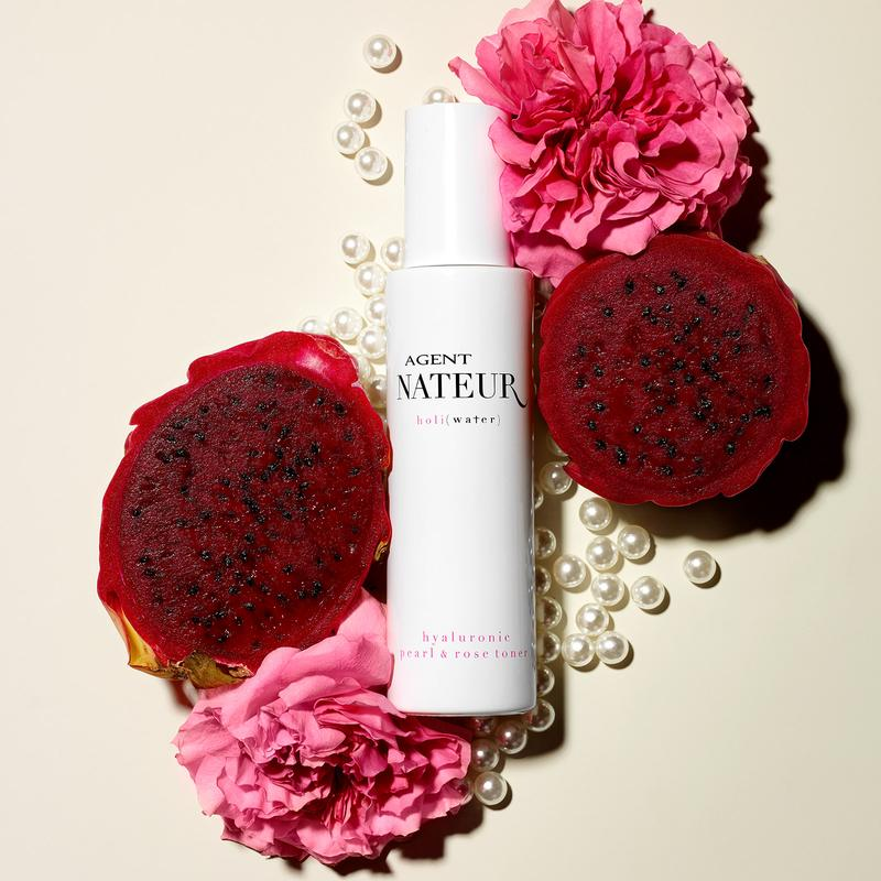 holi ( water ) pearl and rose hyaluronic toner
