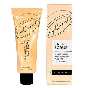 Load image into Gallery viewer, UpCircle Face Scrub - Coffee & Citrus Oils 100g