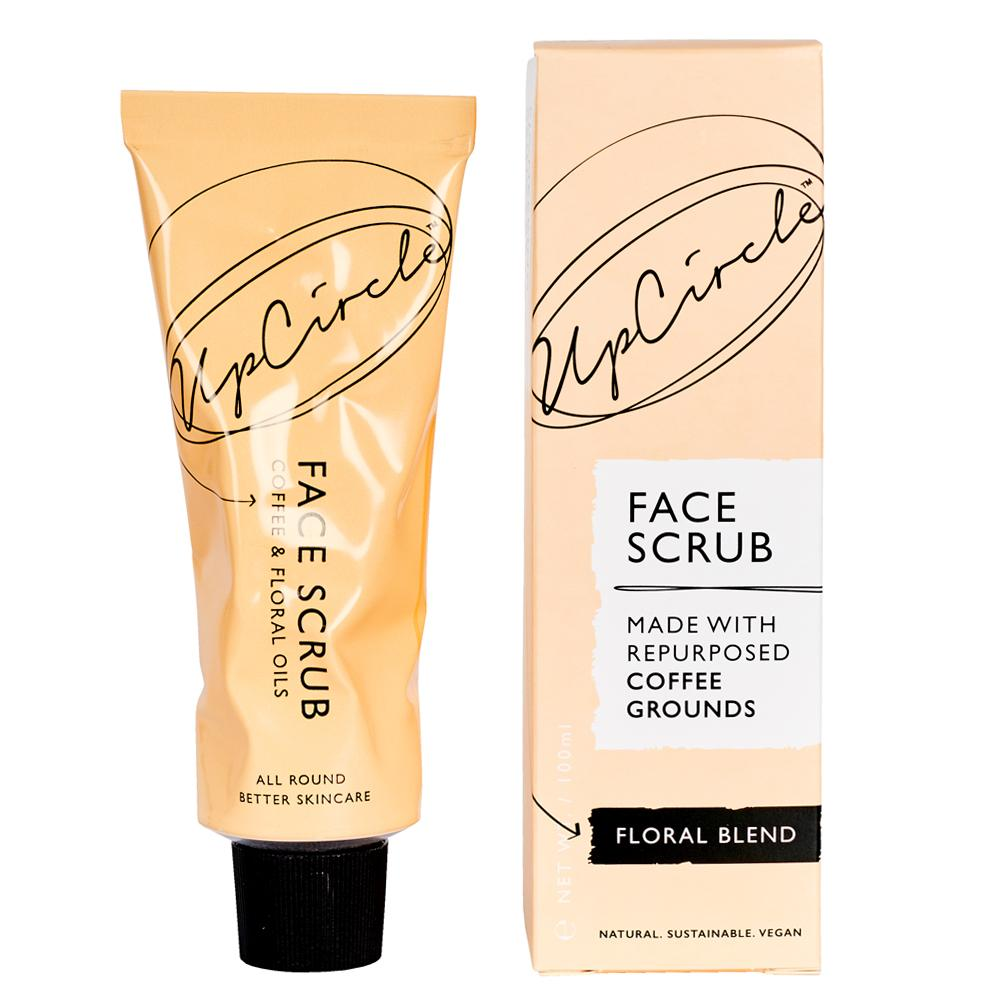 UpCircle Face Scrub - Coffee & Floral 100g