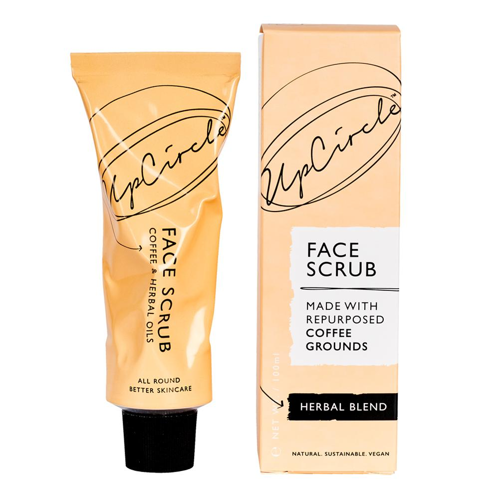 UpCircle Face Scrub - Coffee & Herbal Oils 100g