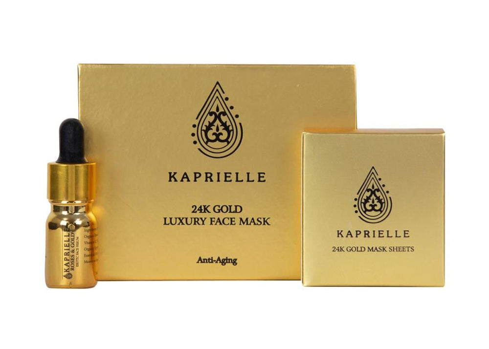 Kaprielle 24K Gold Face Mask Sheets