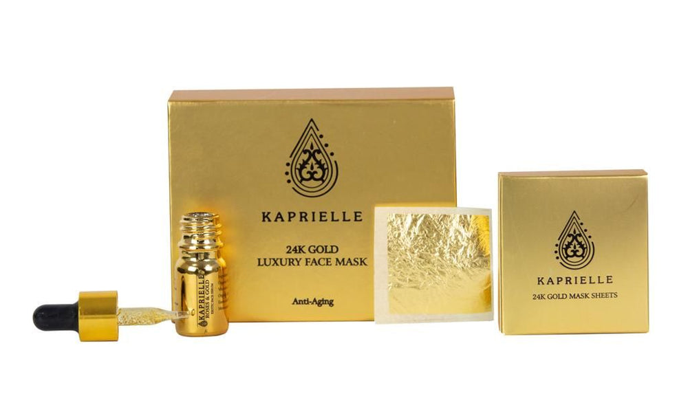 Kaprielle 24K Gold Luxury Face Mask Kit 180g