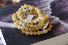 Load image into Gallery viewer, Yellow Jade Bracelet (8mm)